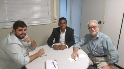 SDHCJ busca parceria com a Secretaria Estadual de Justiça, Direitos Humanos e Desenvolvimento Social
