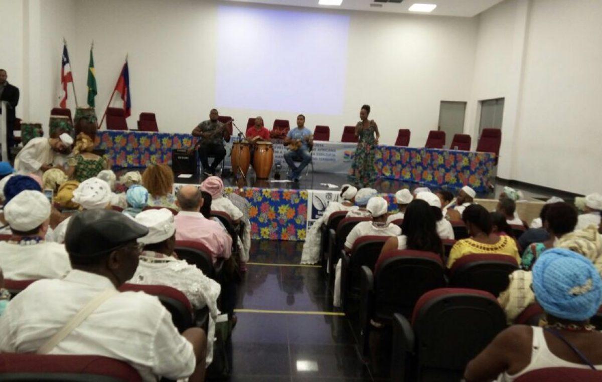 Segunda edição do Troféu Axé reuniu diversas autoridades das religiões de Matriz Africana