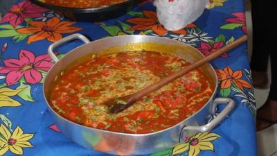 Delícias da culinária africana são ensinadas no Projeto Gastronômico Onjé Darugbô
