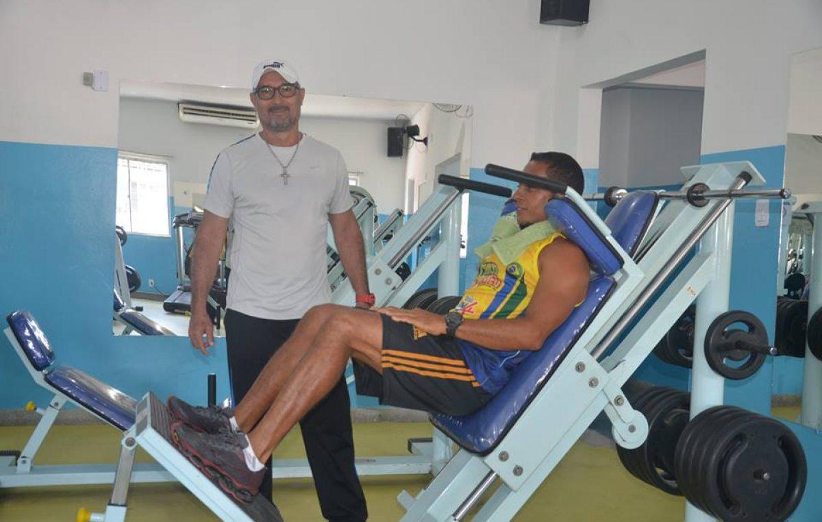 O Centro de Atividades Físicas Armando Oliveira dos Santos reiniciou as atividades nesta segunda (08)