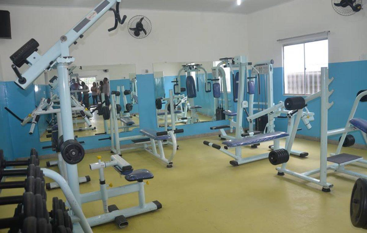 Centro de Atividades Físicas foi requalificado e será reaberto a partir de segunda-feira (08)