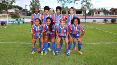Time de futebol feminino enfrentou o Iranduba (Amazonas) no Brasileirão 2017