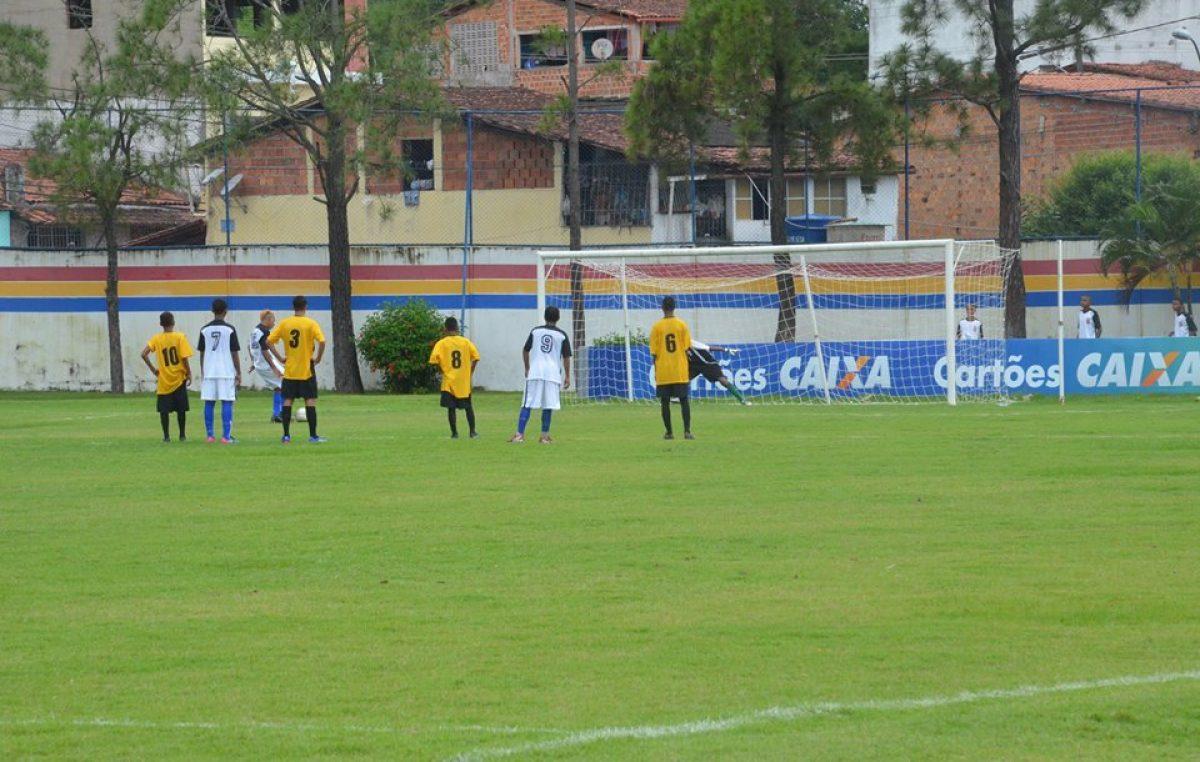 Copa Metropolitana de Futebol Sub-15: Jogo terminou com embate de 1X1