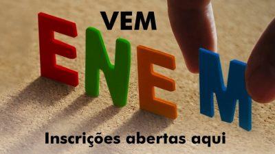 Inscrições para o ENEM podem ser feitas no PROUNIFAS da sede e do Caípe