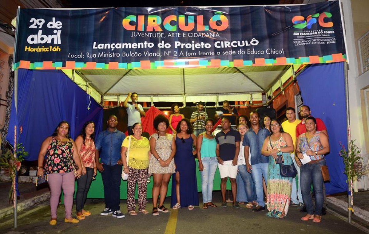 Lançamento do Projeto Circulô reuniu a juventude franciscana na noite de sábado (29)