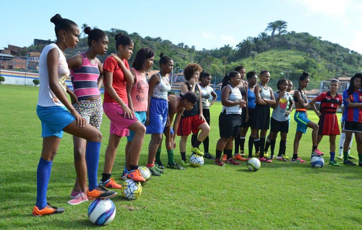 SEDESE lançou Clínica de Futebol Feminino em São Francisco do Conde