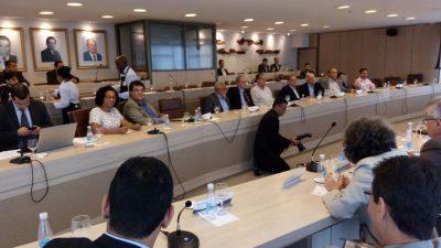 Reunião aconteceu na sede da Federação do Comércio de Bens, Serviços e Turismo do Estado da Bahia