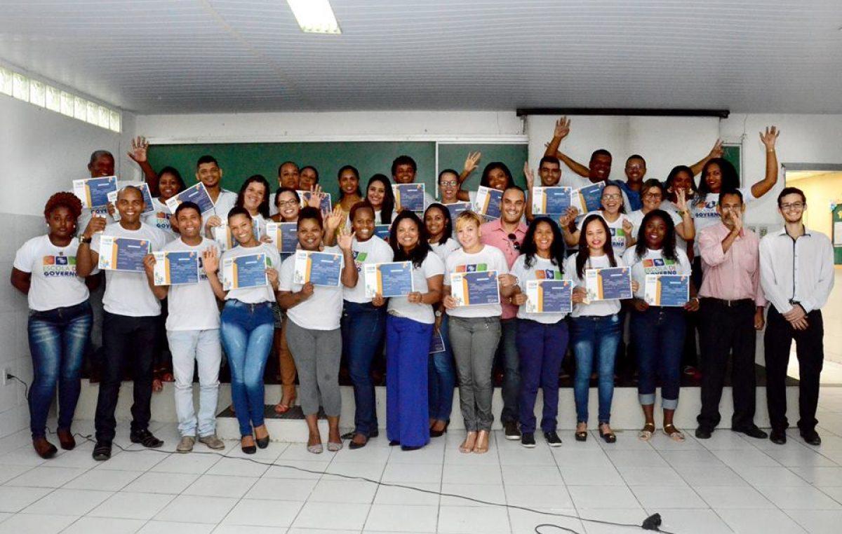 Escola de Governo concluiu na segunda (05) as aulas da primeira turma do Curso de Arquivo