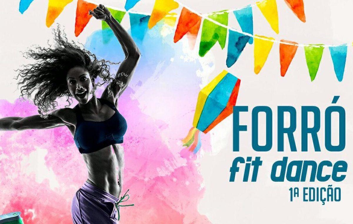 1ª edição do Forró Fit será realizada no dia 10 de junho