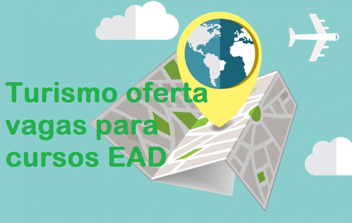 Turismo oferta vagas para cursos EAD em diversas áreas
