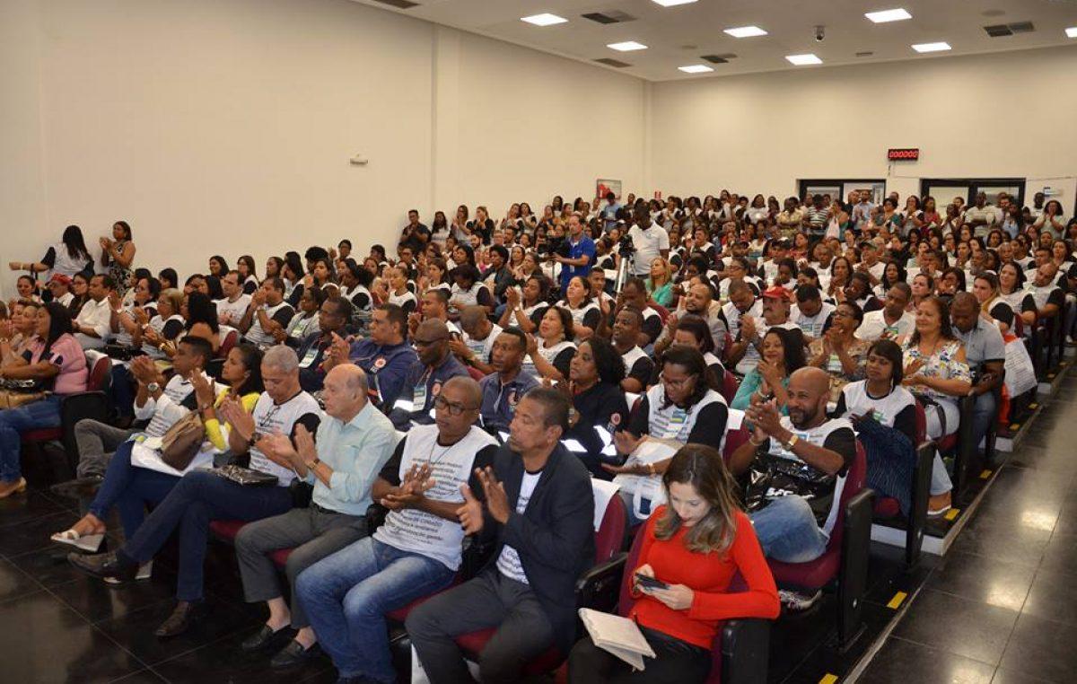 Auditório lotado, boas-vindas e humanização marcaram o Seminário de Acolhimento da Saúde
