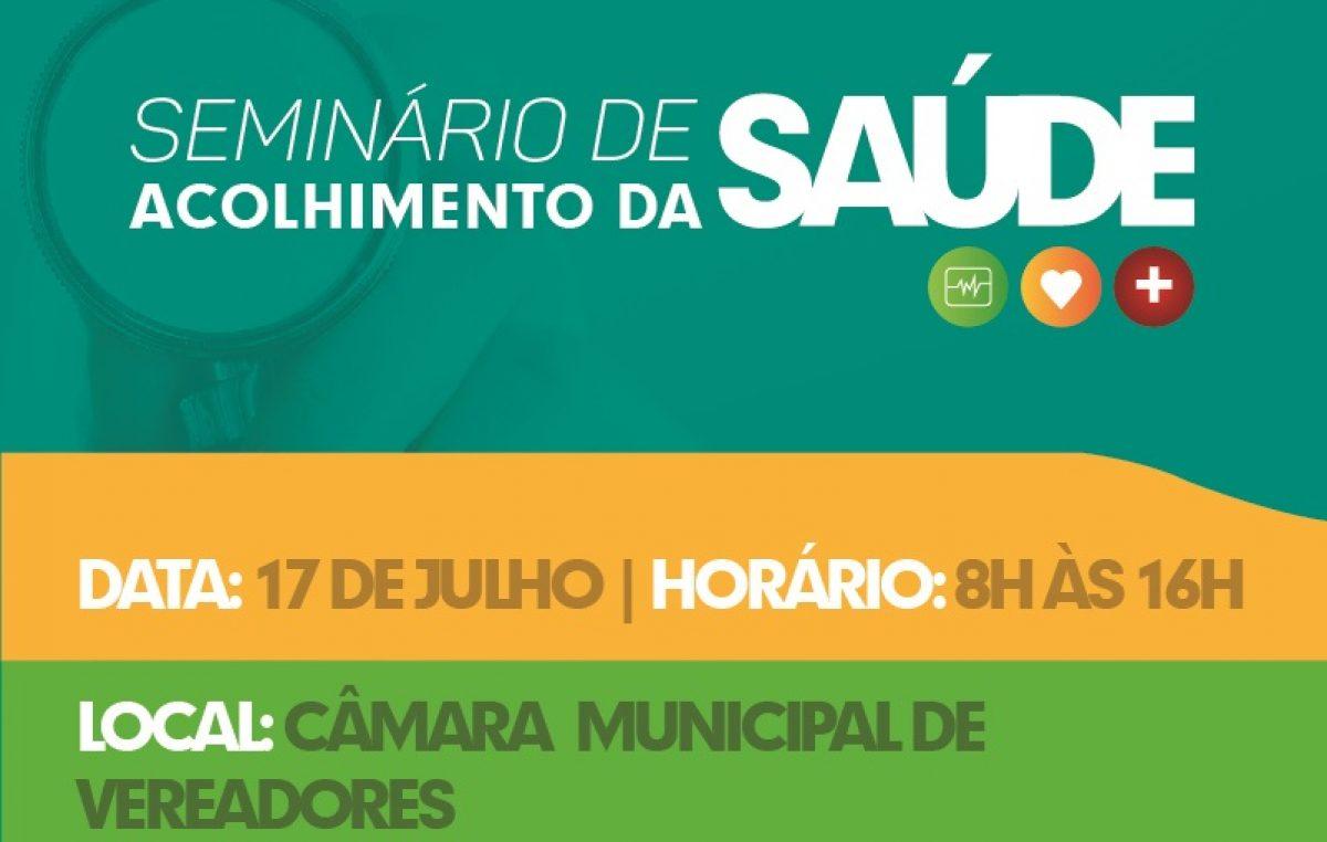 Prefeitura promove Seminário de Acolhimento da Saúde