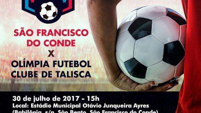 Amistoso trata confronto entre São Francisco do Conde X Olímpia Futebol Clube de Talisca