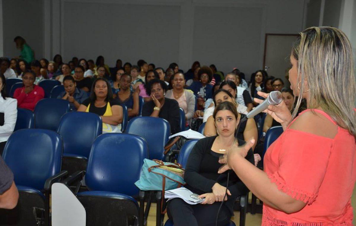 Saúde promove Acolhimento Pedagógico 2017 para profissionais da Atenção Básica