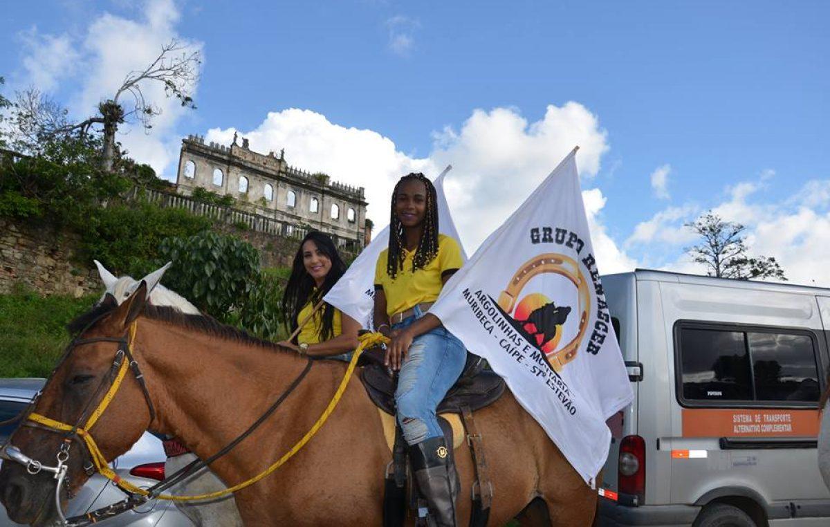 Cavaleiros e amazonas participaram da VIII Cavalgada de São Francisco do Conde