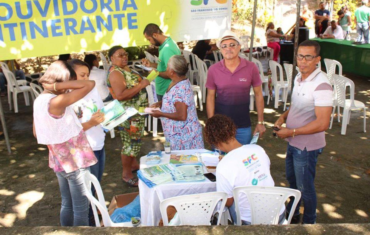 Ouvidoria Itinerante chega ao bairro de Fazenda Macaco, no dia 1° de dezembro