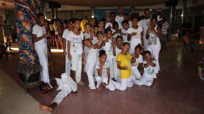 Roda de Capoeira rendeu homenagem aos 83 anos de Mestre Mário