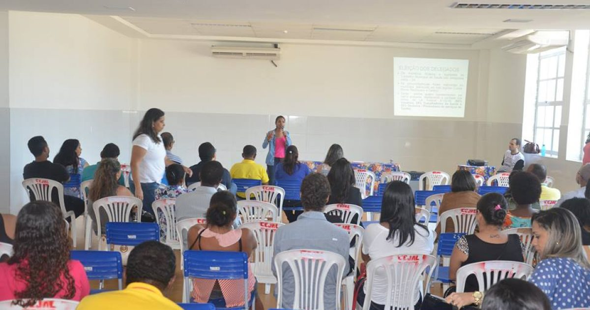 Usuários do SUS, profissionais e gestores da Saúde participaram de momento preparatório para conferência