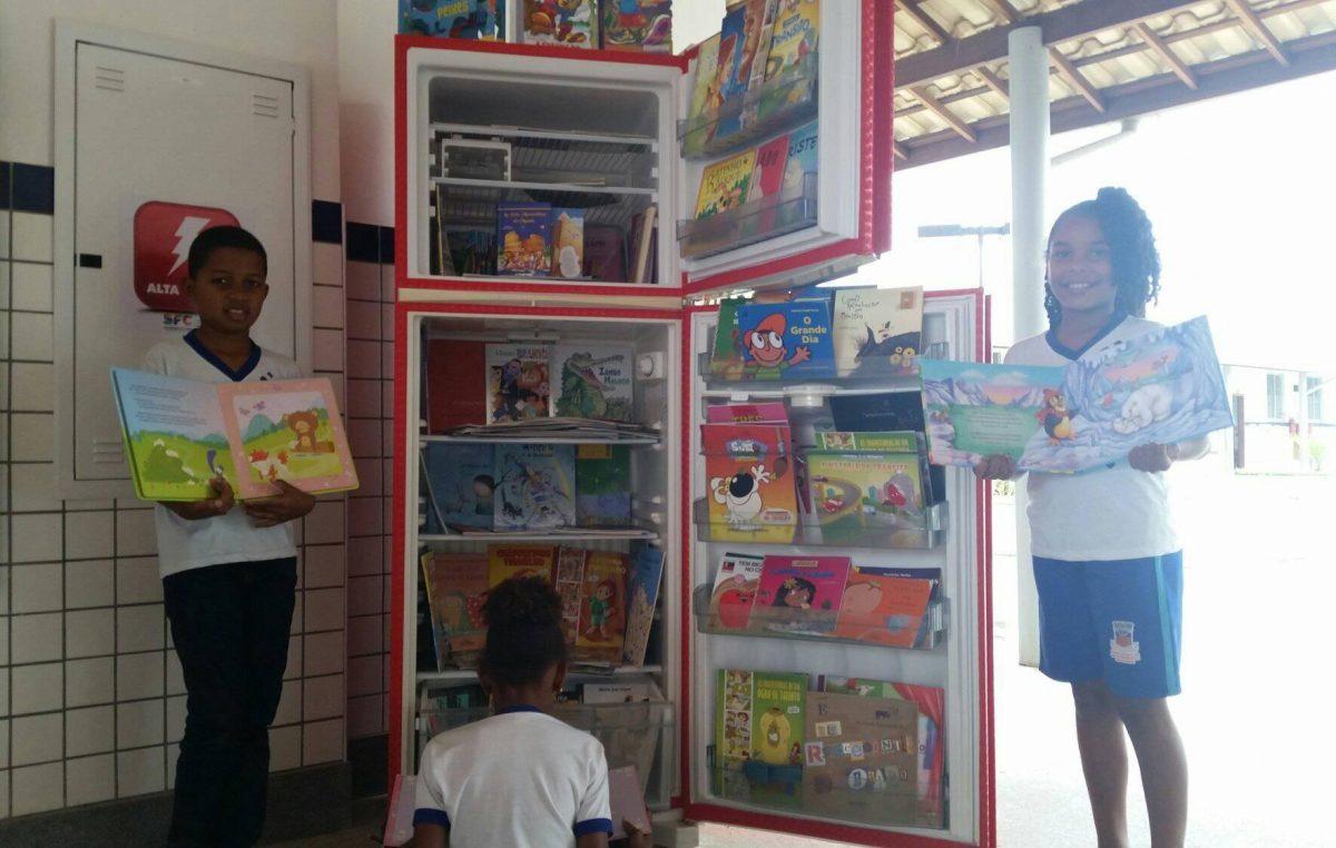Complexo Escolar Rilza Valentim inova com Biblioteca Volante
