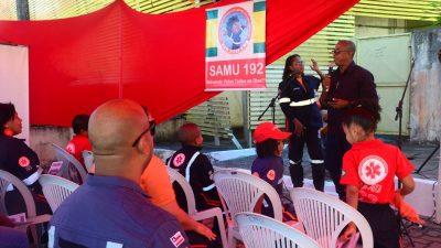 SAMU faz festa pelos 8 anos de atuação no município