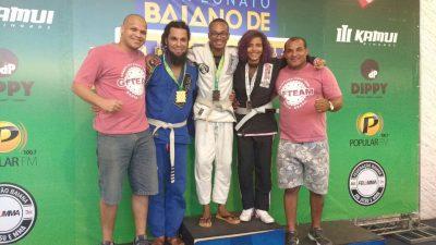 Atletas franciscanos conquistam 8 medalhas em Campeonato Baiano de Jiu Jitsu