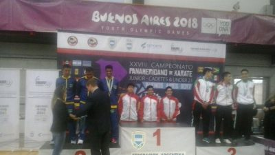 São Francisco do Conde é PRATA no Campeonato Pan-Americano de Karatê 2017