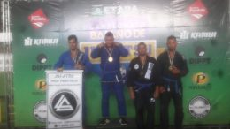 Atletas franciscanos participam da  VIII Etapa do Campeonato Baiano de Jiu-Jitsu e MMA