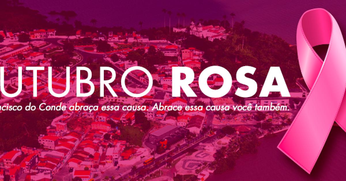 Outubro Rosa: Unidades de Saúde, CRESAM e CAPS estão na luta contra o câncer de mama