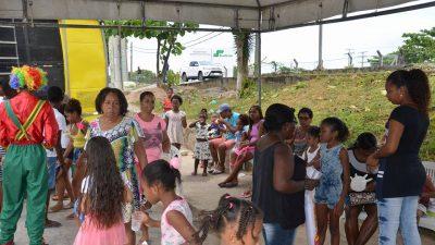 CRAS e o CREAS proporcionaram momentos de diversão para comunidade do Caípe