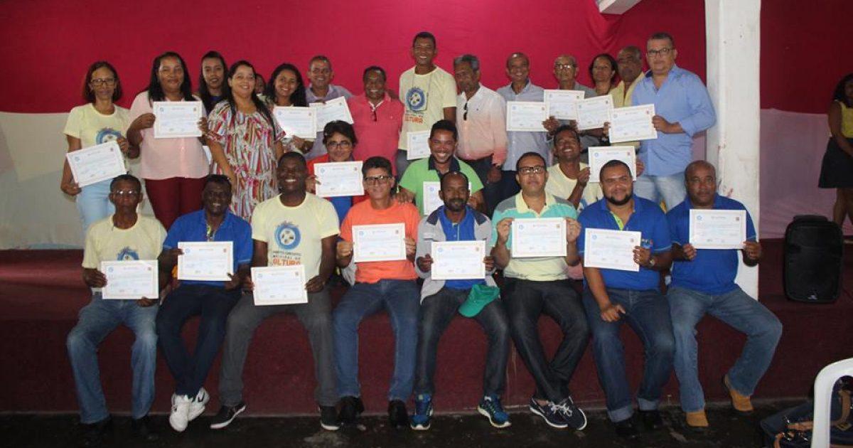 Circuito Municipal de Cultura – Cultura em Movimento certificou os oficineiros e coordenadores do projeto