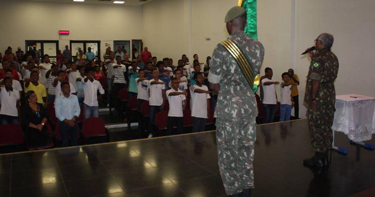 Jovens franciscanos receberam Certificado de Dispensa de Incorporação (CDI) do Serviço Militar