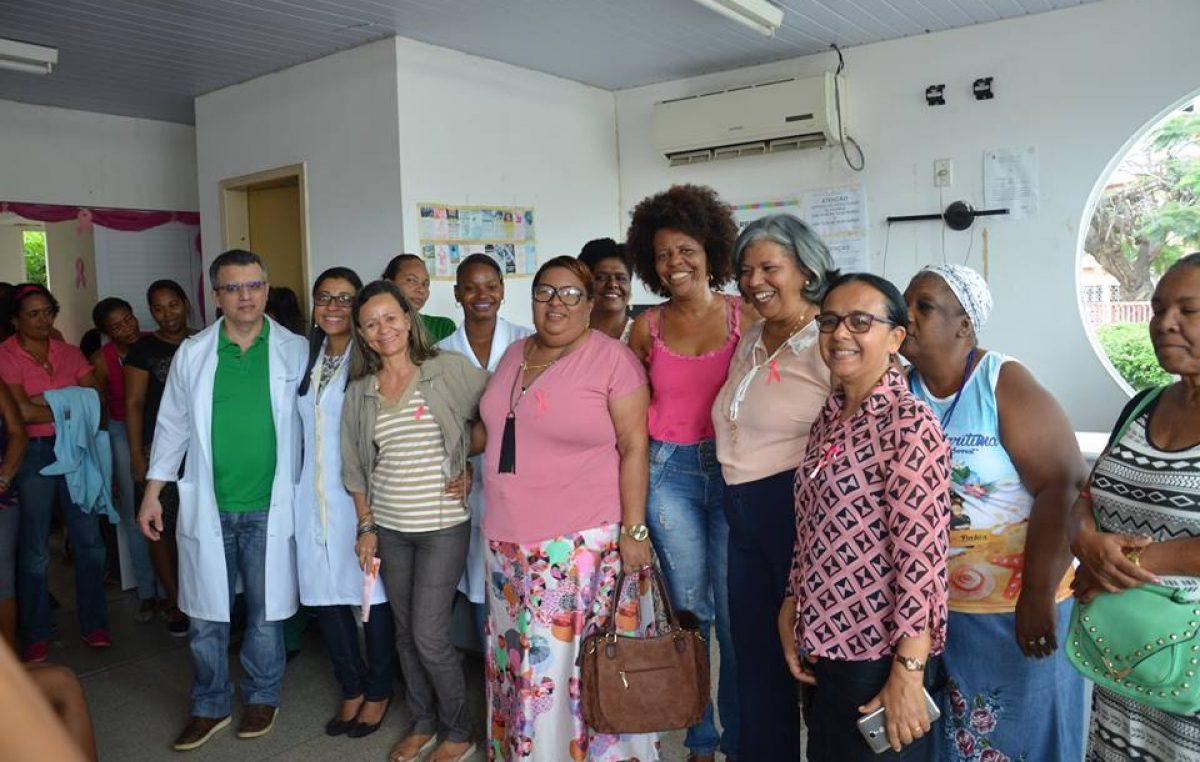 CRESAM segue realizando ações de prevençãoe diagnóstico precoce do câncer de mama