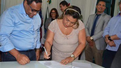 Prefeitura de São Francisco do Conde assina convênio comPROSUS para construção de Academia de Saúde e prédio próprio do CAPSno município