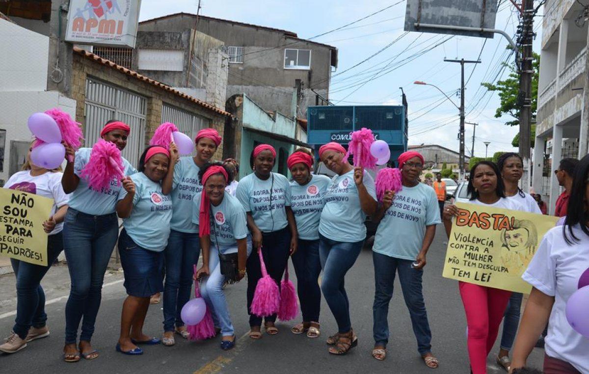 """CRAM realiza caminhada em comemoração ao seu primeiro ano de implantação e lança a campanha """"Você não está sozinha!"""""""