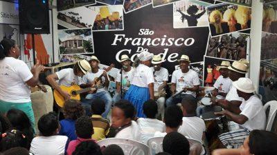 Crianças caíram no samba durante a IX Edição de CINEMA, SAMBA e VIOLA