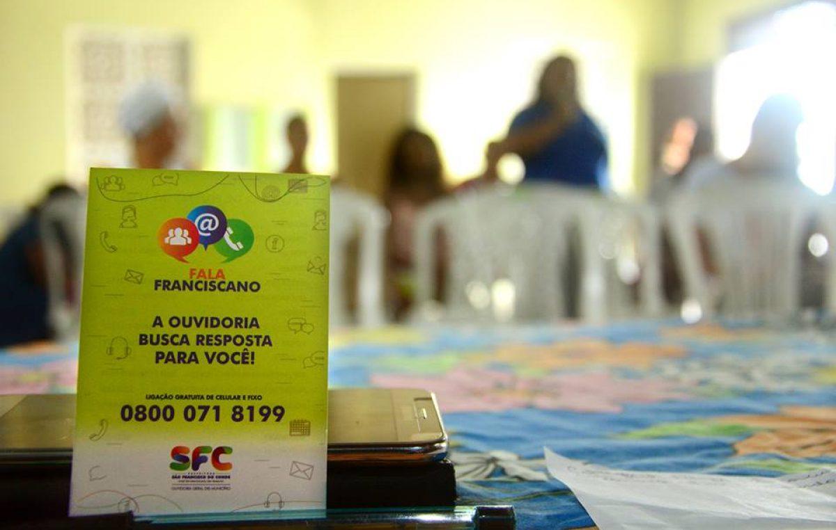 Projeto Ouvidoria Itinerante chegou ao bairro do Monte Recôncavo, nesta sexta-feira (17)