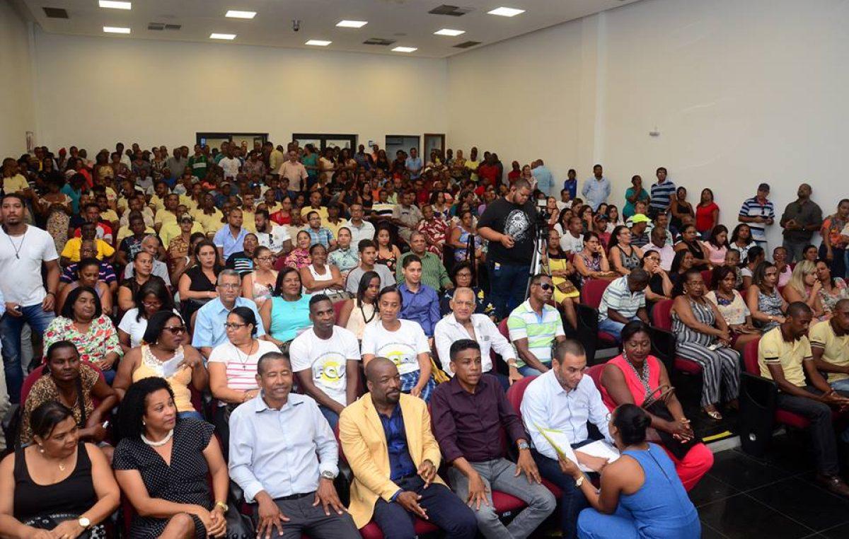 Cerimônia de Sanção das Leis de Enquadramento dos Servidores Estatutários e Celetistas