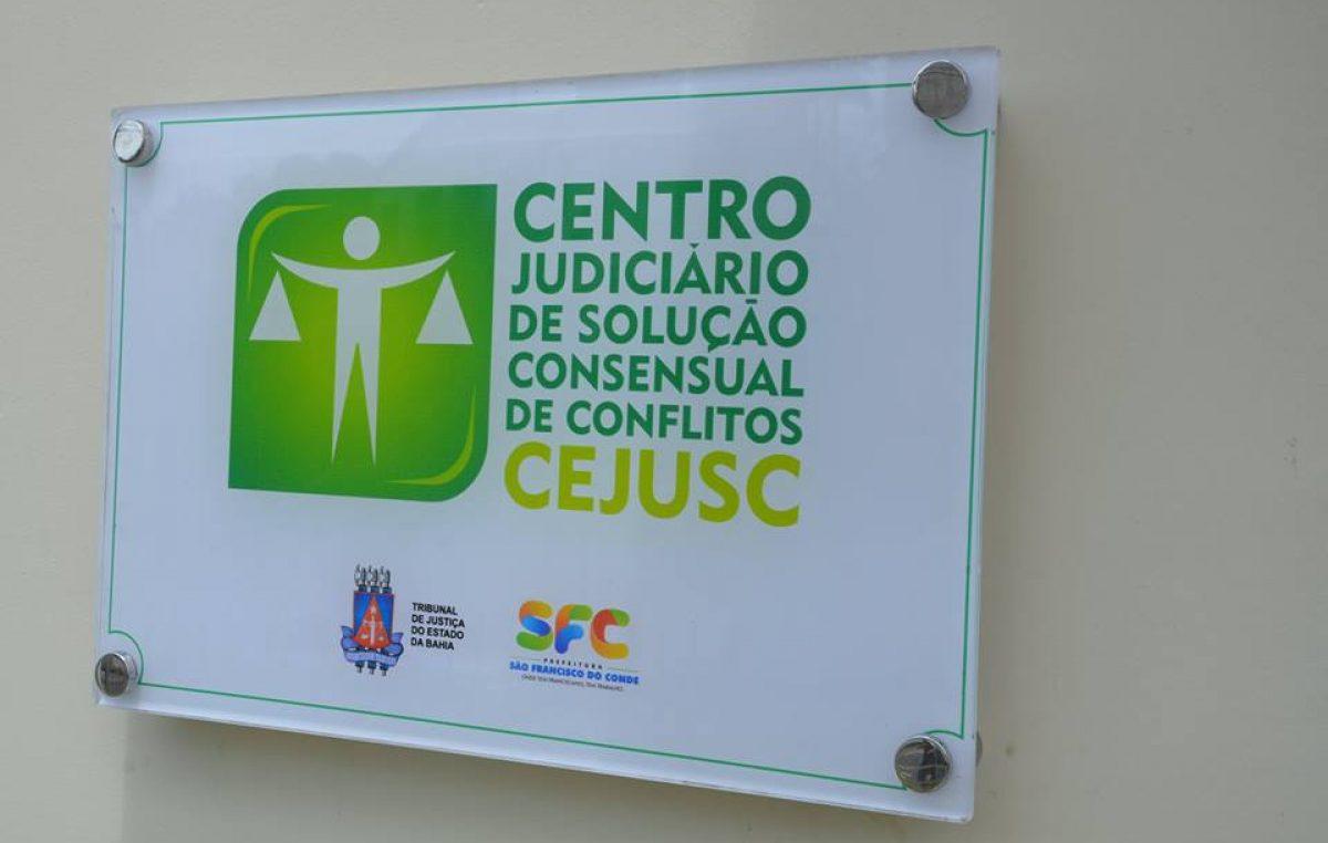 Município ganhou Centro Judiciário de Solução Consensual de Conflitos