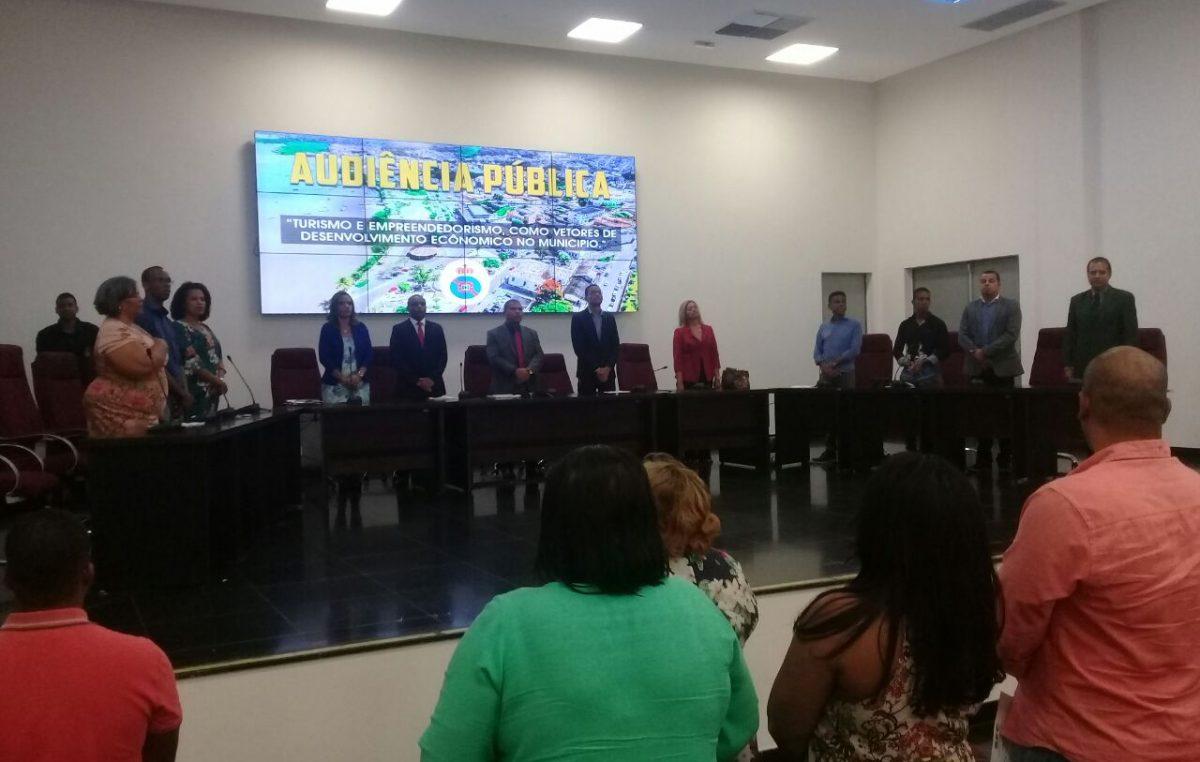 Câmara de Vereadores realizou Audiência Pública para discutir Turismo e Empreendedorismo