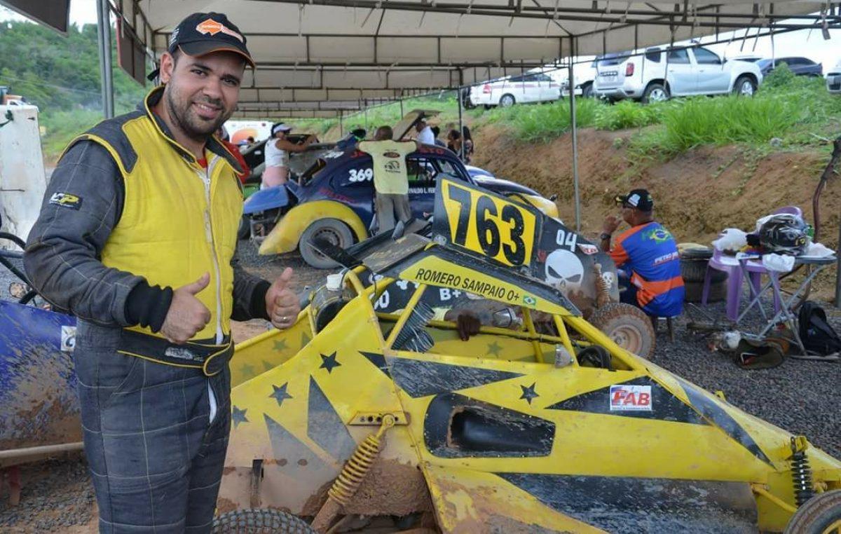 Romero confirma favoritismo e é campeão da Kartcross