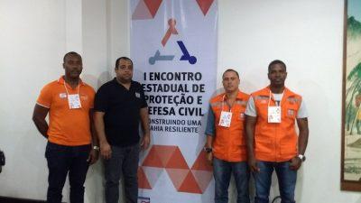 Defesa Civil de São Francisco do Conde participa do I Encontro Estadual de Proteção e Defesa Civil