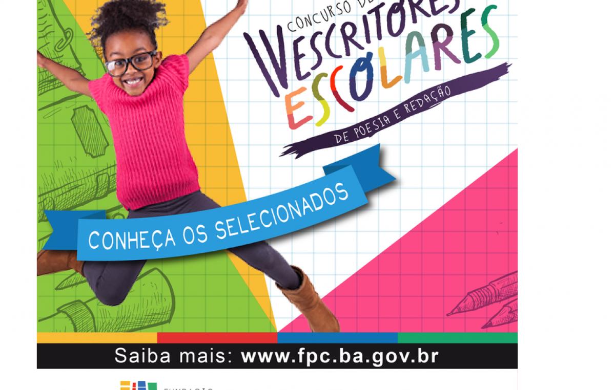 São Francisco do Conde se destaca no IV Concurso de Escritores Escolares