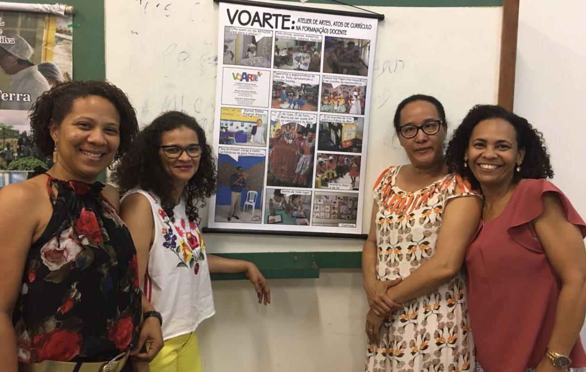 Projeto Voarte é apresentado no IV Seminário Sobre Formação em Exercício de Professores