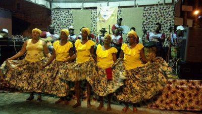Festival de Samba de Roda marcou passagem pelo Caípe e também na sede