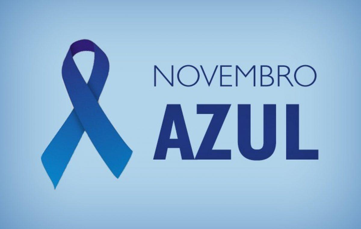 SESAU está realizando o Projeto Azul em Foco, uma ação da Campanha do Novembro Azul