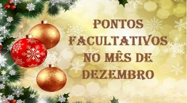 São Francisco do Conde terá ponto facultativos no dia 22 de dezembro