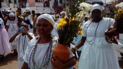Tradicional Lavagem de Nossa Senhora da Conceição da Praia agita São Francisco do Conde