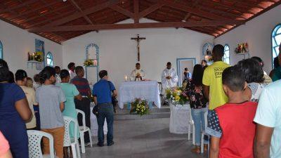 Missas e procissões marcaram as homenagens a Nossa Senhora da Conceição da Praia no bairro do Caípe, em São Francisco do Conde