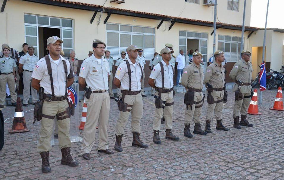 Polícia Militar promoveu comemoração que contou com a presença de representantes do município