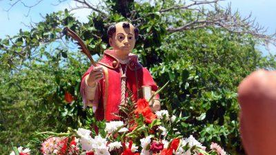Santo Estevão: missa campal celebra o padroeiro do bairro